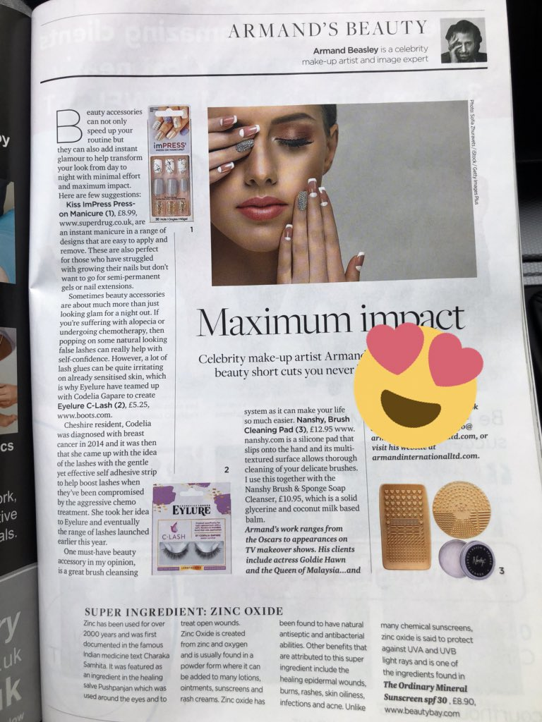 d4ef84b702b Out now! My column in @cheshirelife talking quick #beauty fixes with  #kissimPress