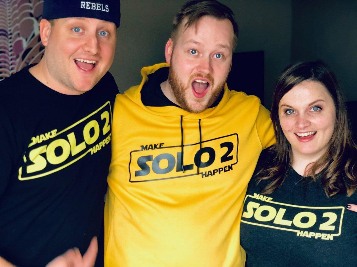 Join us for #MakeSolo2Happen day on 5/23/19!   On that day tweet using the hashtag with photos, shirts, etc!  Together let&#39;s get it trending so @Disney takes notice that #StarWars fans want a #Solo sequel, whether it&#39;s a movie or series! We encourage the creators to get involved!<br>http://pic.twitter.com/8SilFaEMql