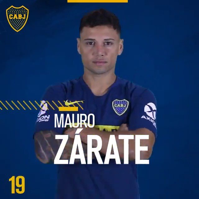Boca Jrs. Oficial's photo on Benedetto