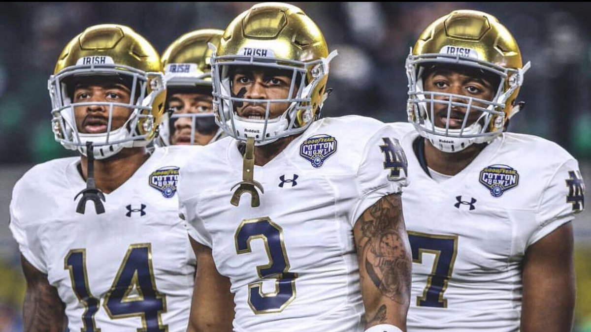Lord works in mysterious ways ... Beyond Blessed to receive an offer from  The University of Notre Dame #GoIrish <br>http://pic.twitter.com/fX56y68Bb8 &ndash; à North Gwinnett High School
