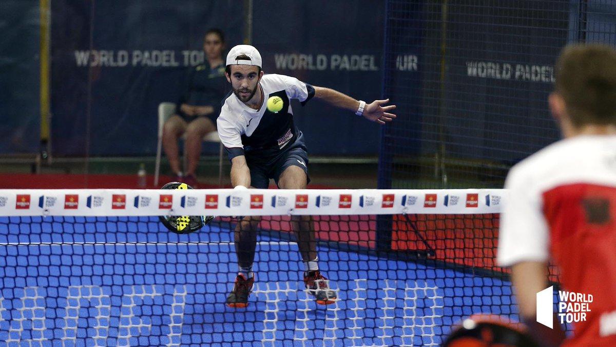 Pincho Fernández y Gaby Reca fueron los primeros clasificados de la previa del Alicante Open