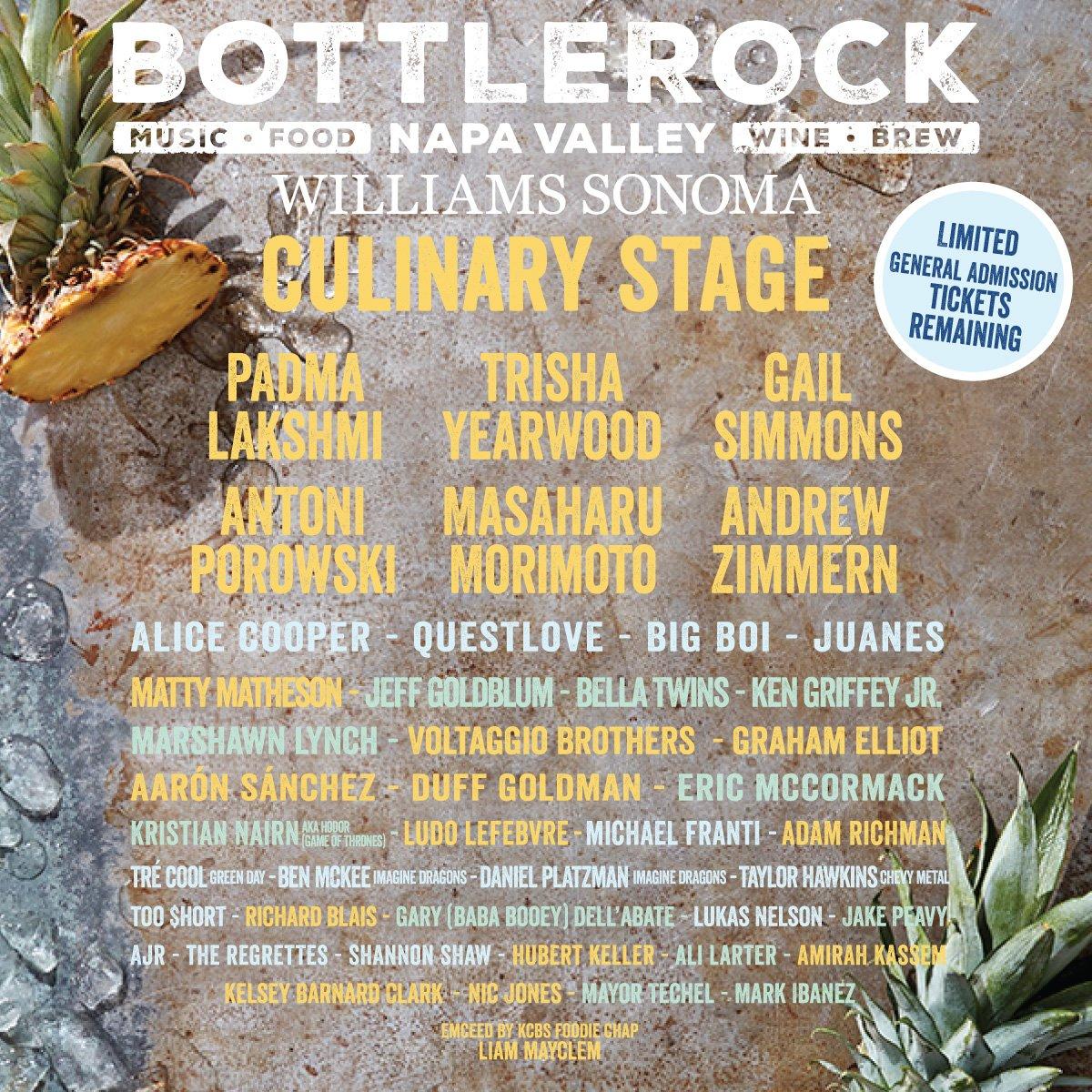 BottleRock Festival 2019 Lineup