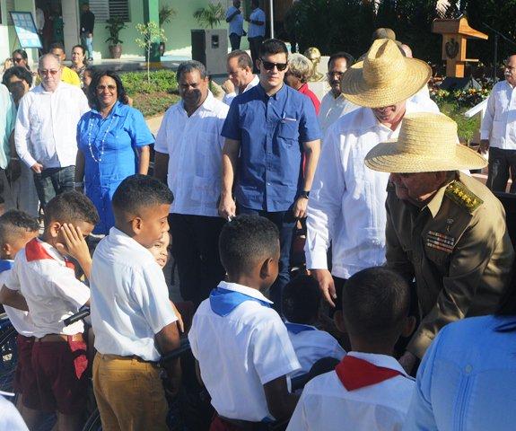 Vocación martiana y fidelista materializada en nueva escuela especial en Cuba