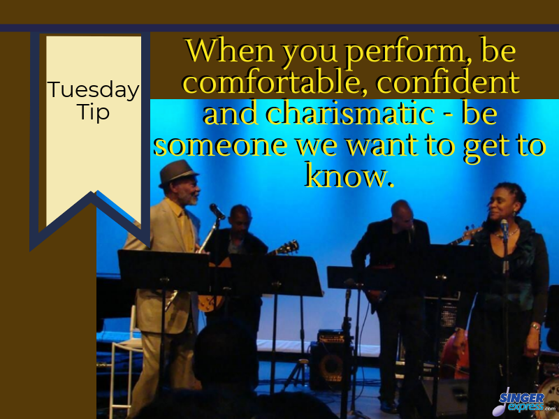 Tuesday Tip - Be real to truly connect! @VocalJazzOnline #bComfortable #bConfident #bCharismatic #BReal #dowhatulove #smile #getting2knowu #connectwithyouraudience #LenoraSings #sing #singer #singers #SingMore #TipTuesday #TuesdayTip #ENSE #SingerExpress