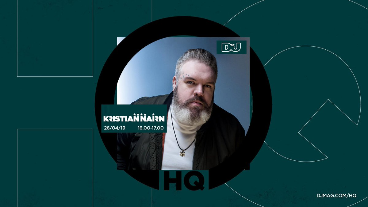 Watch Kristian Nairn Live From #DJMagHQ, This Friday http://dlvr.it/R3M0H1