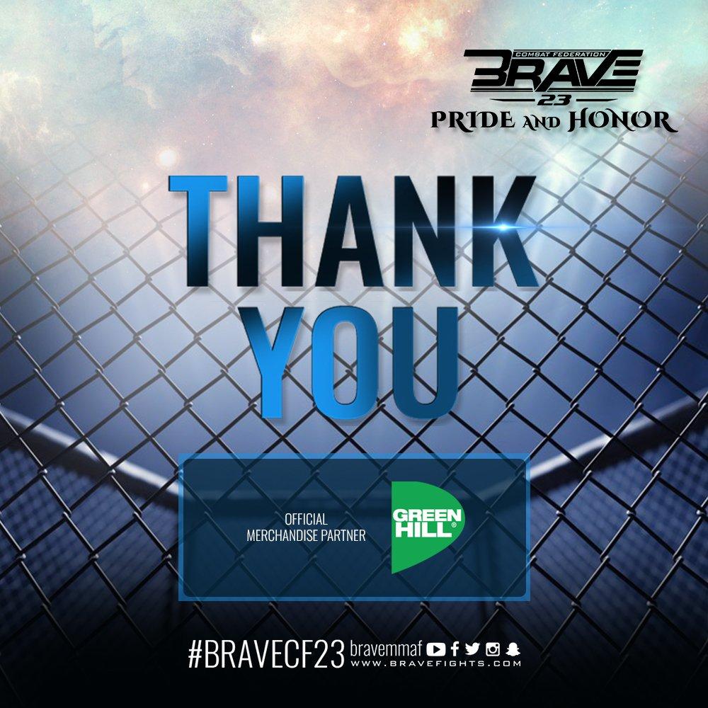 #BraveCF23