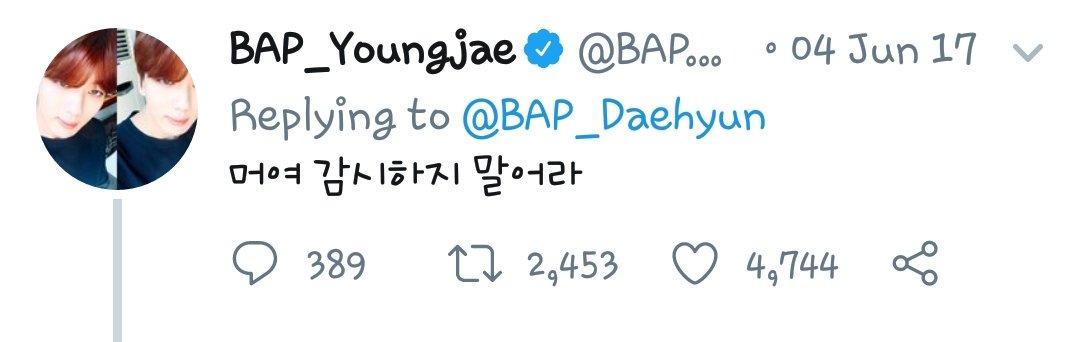 daejae hashtag on Twitter