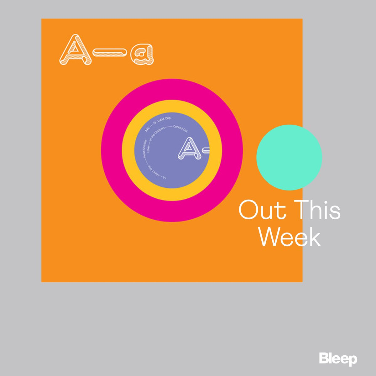 Out This Week: Lukid - Drip @Arcola_ bleep.com/release/126546… Next up in Warps sublabel Arcola series - Drip sees @Lukid turn in another set of strange and unique tracks that draws on grime, techno, tape electronics and UK bass without ever really sounding like any of them.