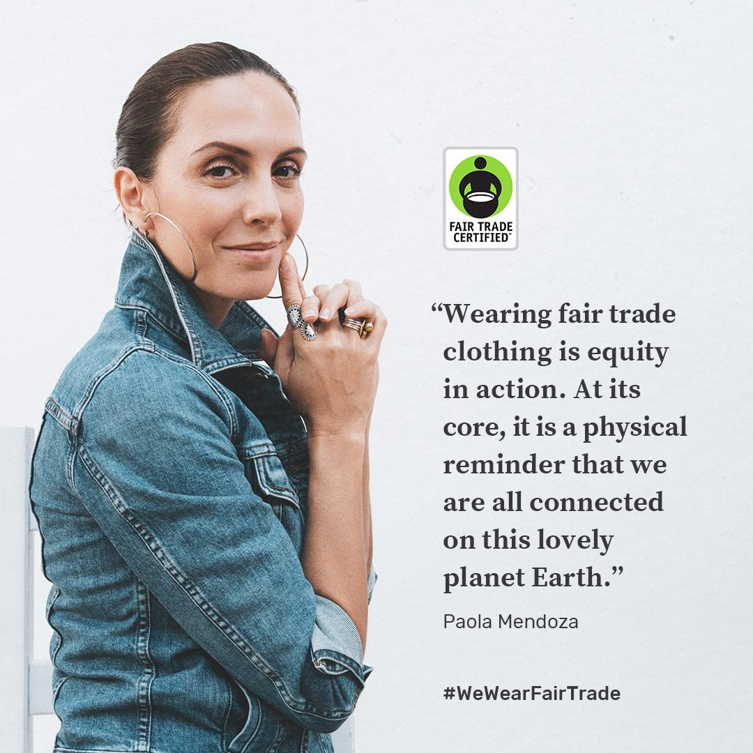For #FashionRevolutionWeek @FairTradeCert & @RachaelxWang launch #WeWearFairTrade lookbook featuring @Athleta @AventuraClothng @JCrew @Madewell @Patagonia @Obey: fairtradecertified.org/we-wear-fair-t… #FairTrade cc: @DeRay @PaolaMendoza @CelineCelineS @SarainFox