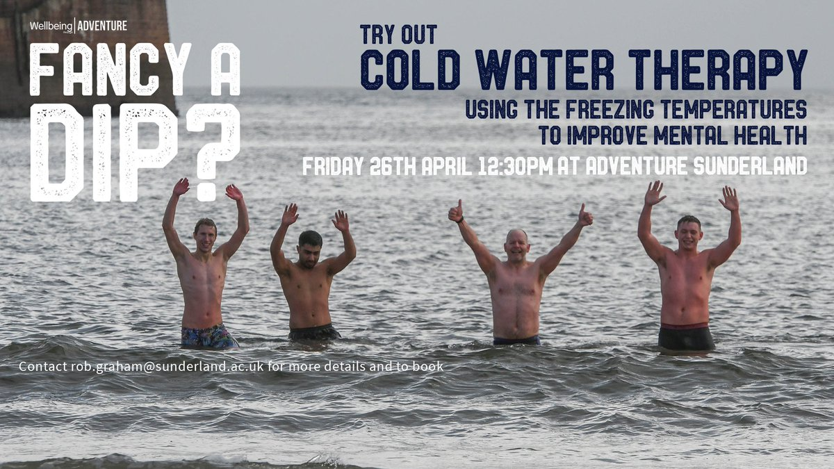 Image for tweet - COLD WATER THERAPY 🌊 🌊