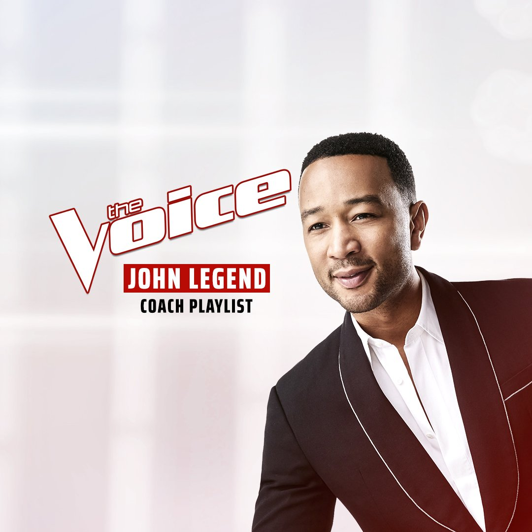 Listen to some voices I love on my exclusive @NBCTheVoice playlist, only on @AppleMusic: http://apple.co/TeamJohn