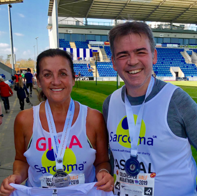 Champion fundraiser and 'completely unfit non-runner' Gina Long MBE @geewizzgee1 is running @LondonMarathon this weekend.  'It will be the most emotional fundraiser I've ever set out to do'.  #CheerThemOn #TeamSarcoma https://geewizzcharity.com/2019/04/23/run-gina-run/…