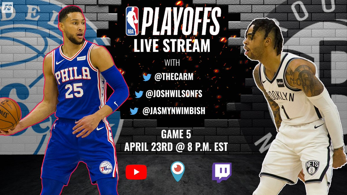 Join us TONIGHT for another #NBAPlayoffs live stream ⤵️