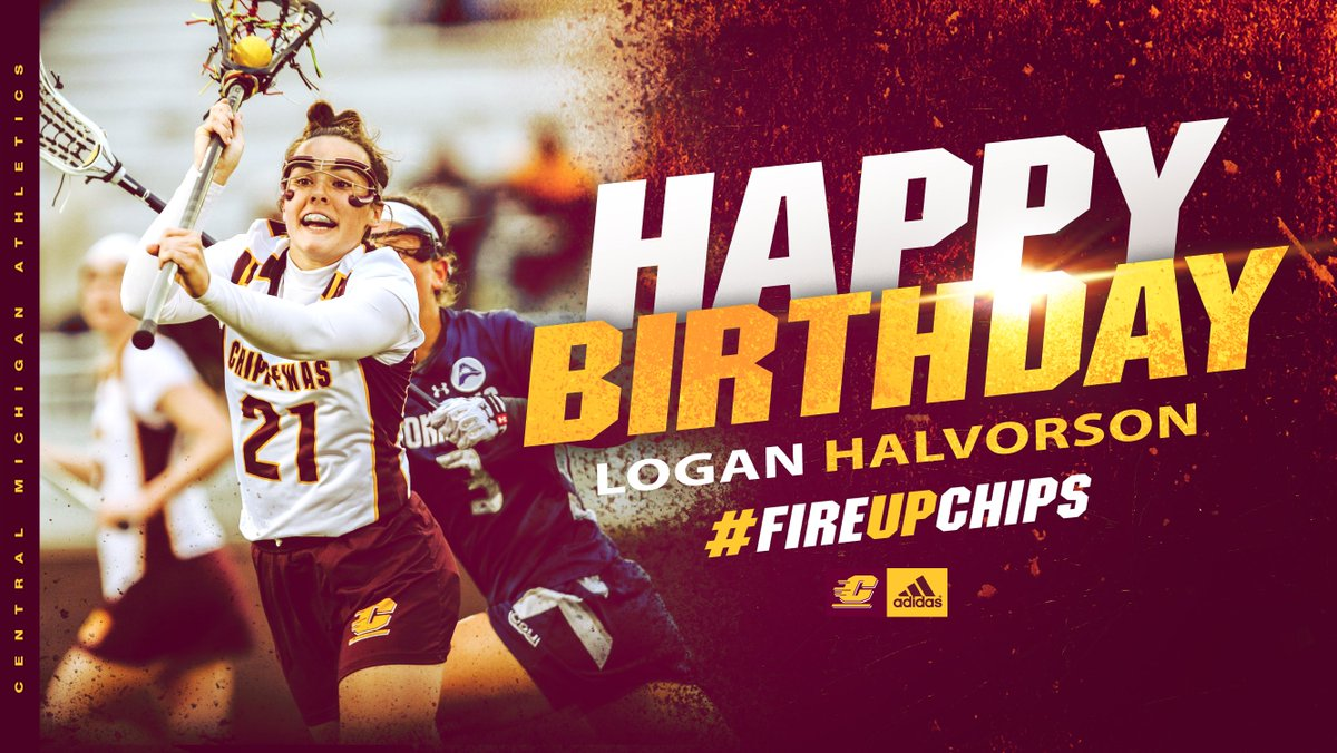 Happy birthday to our senior midfielder, Logan Halvorson! #FireUpChips
