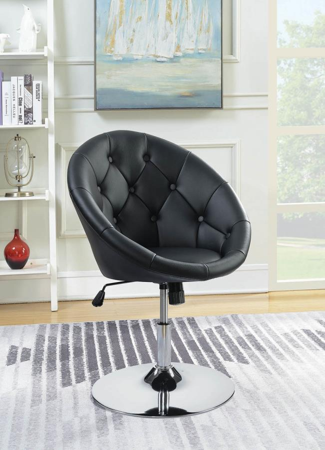 Fantastic Ubuyfurniture Com On Twitter Round Black Adjustable Swivel Cjindustries Chair Design For Home Cjindustriesco