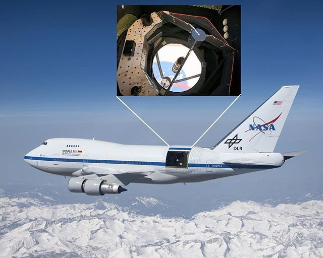 Ready to meet SOFIA (Stratospheric Observatory for Infrared Astronomy). Credit: NASA @sofiatelescope @nasa @nasaarmstrong #nasa #space #science bit.ly/2XwaTf4