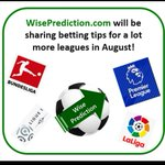 Image for the Tweet beginning: Keep following! 😉👇#wiseprediction #bet #match