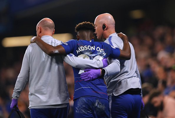 BREAKING: @ChelseaFC's Callum Hudson-Odoi expected to undergo surgery on ruptured achilles this evening. #SSN