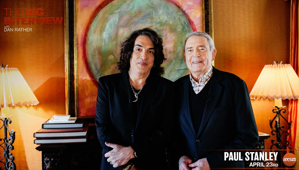 TONIGHT! Catch my interview with @DanRather - The Big Interview on @AXSTV 8:00PM EST/5:00PM PST (Please check your local listings).