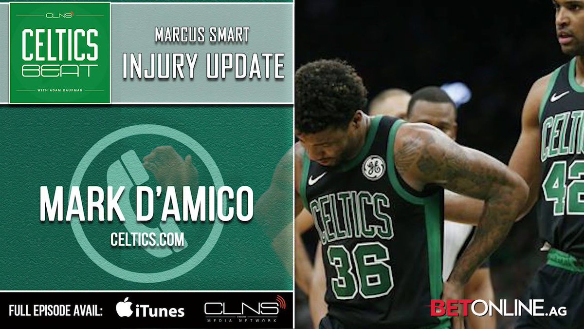 Celtics' Mark D'Amico talks Marcus Smart injury, Kyrie's future & predictions for C's vs Bucks series (podcast) https://t.co/ZSEfnjixHe https://t.co/Tb7gZPPpbT