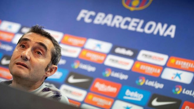 """Valverde: """"Barcelona could win a treble or we could win nothing."""" [marca]"""