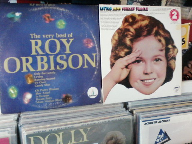 Happy Birthday to the late Roy Orbison & the late Shirley Temple