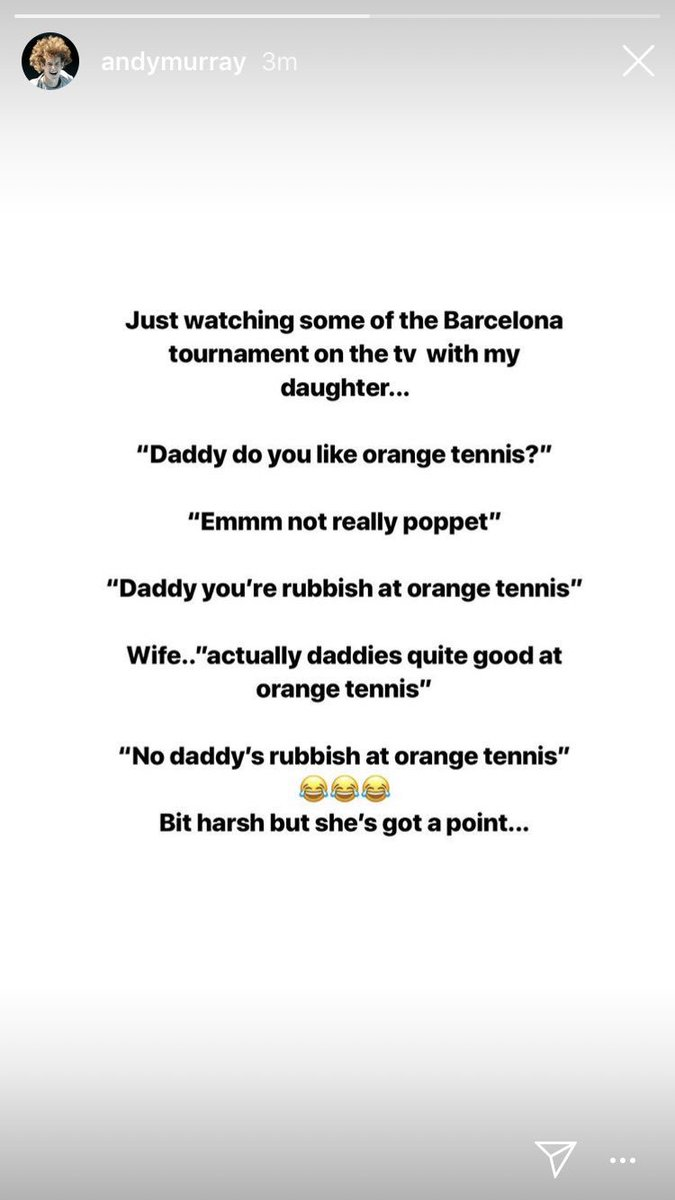 Well, @andy_murray&#39;s daughter is a savage! <br>http://pic.twitter.com/3Gkbyesdwe