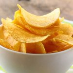 Image for the Tweet beginning: The best homemade potato chip