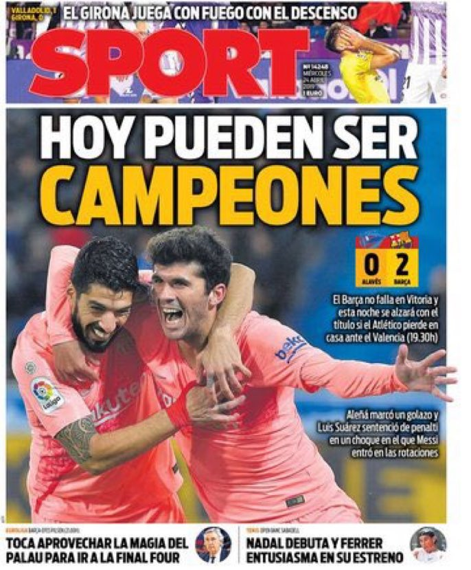 Cover   'Now they can be Champions' [sport]