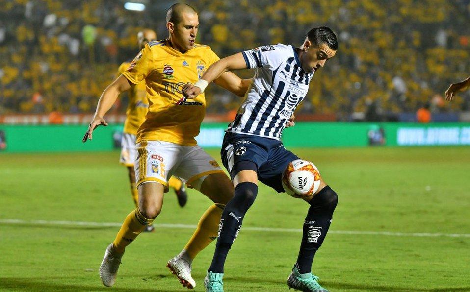 Monterrey venció 1-0 a los Tigres en la ida de la Final Concacaf 2019