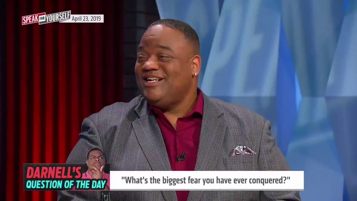"""⁉️Darnell's Question of The Day: What's the biggest fear you have ever conquered? 🤔@Darnell_Smith95  """"The hardest thing in my life to conquer was I pooped my pants until the 4th grade."""" — @WhitlockJason 💩😱"""