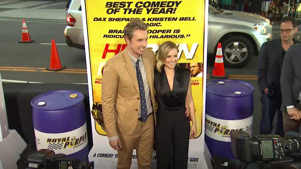 Image for the Tweet beginning: Here's what Dax Shepard and