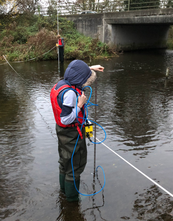 hydrographer, photo credit @profkhiscock