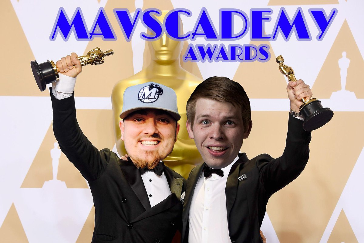 Today we put a bow on the 2018-19 Mavs season with our annual Mavscademy Awards on @LockedOnMavs  Part 1-http://bit.ly/2vkodac Part 2-http://bit.ly/2IQgYyS  -Best Luka Moment -Best Luka GIF -Best Dirk Retirement Moment -Best Carlisle Quote & many more