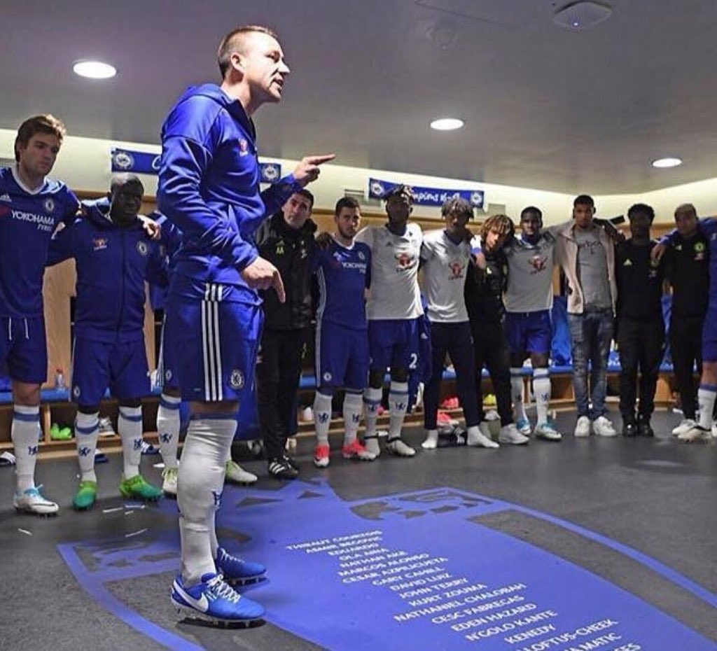 We really need this right now, the players need a good spanking and talk by one certain legend, his name is John Terry, I miss you captain.. you are really missed especially during our current tough period 💙😩 #CFC #ChelseaFC #JohnTerry