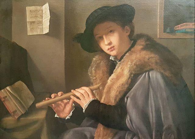#GiovanniGirolamoSavoldo #PortraitOfYoungMan #TheFlutePlayer #OilOnCanvas #PinacotecaTosioMartinengo @bresciamusei #Brescia #RenaissencePainting #ItalianMasters #Savoldo https://t.co/DCkXKei9Kw