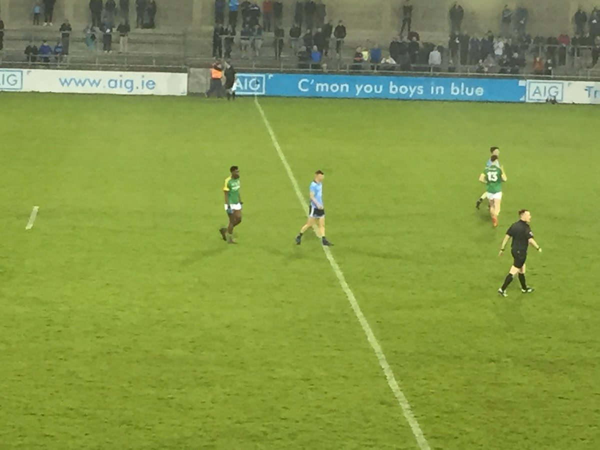 Great game! FT: #Dublin 4-10 #Meath 2-10 #LeinsterMFC margin of victory a bit harsh on Meath
