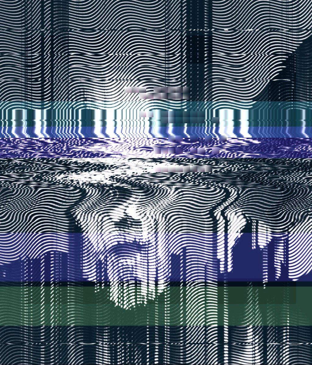 😓🔕 glitch line noir cyberpunk plotter monochrome halftone nodejs Origin img by @KnownOrigin_io