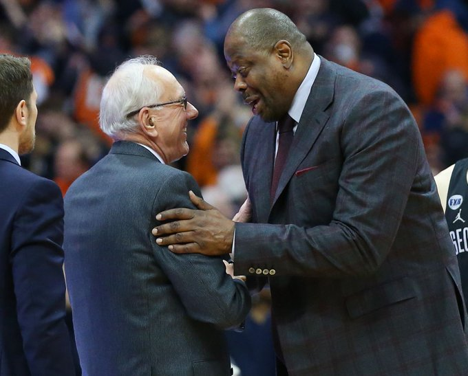 Syracuse & Georgetown renew rivalry with 4-game series