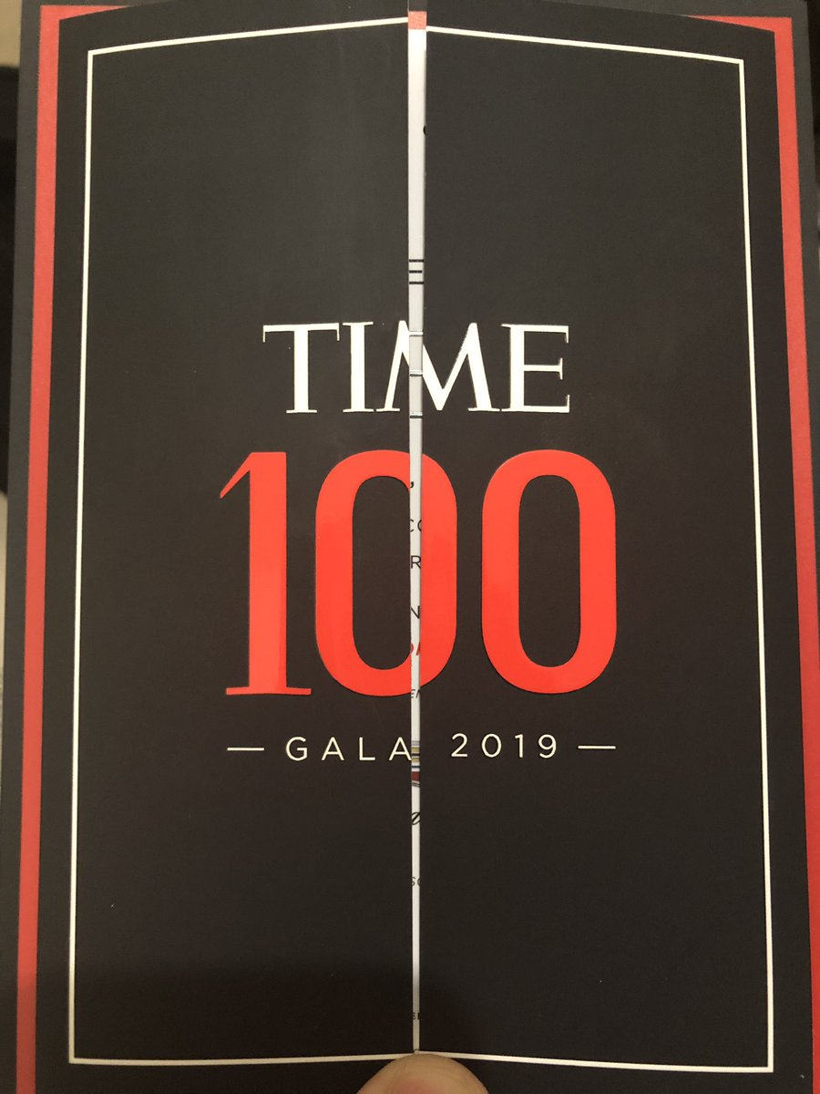 . @LoujainHathloul was supposed to attend the #TIME100 Gala today, but she can't make it since she is locked behind bars in #SaudiArabia.   I am keeping her invitation with me so hopefully one day I can hand it to her once she's free. <br>http://pic.twitter.com/B48dRiPzmO