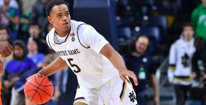 Notre Dame Transfer D.J. Harvey Visiting Iowa Basketball