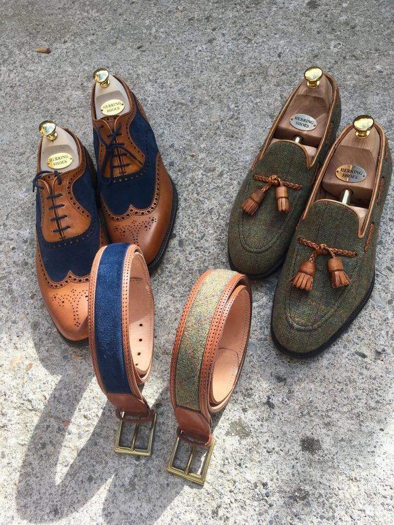 79db1ff0e34 The Fencote two-tone  brogue (see left) remains one of our most popular  styles to date  https   buff.ly 2TQrRm7   springintosuedepic.twitter.com iLrpng04P0