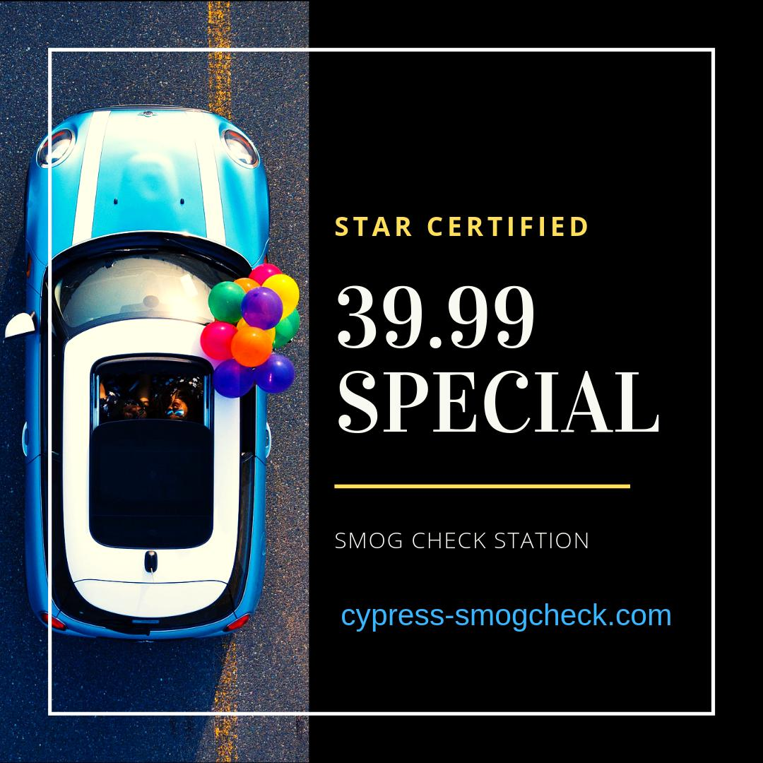Smog Check Cost >> Cypress Smogcheck On Twitter 39 95 Smog Test Only Show Us