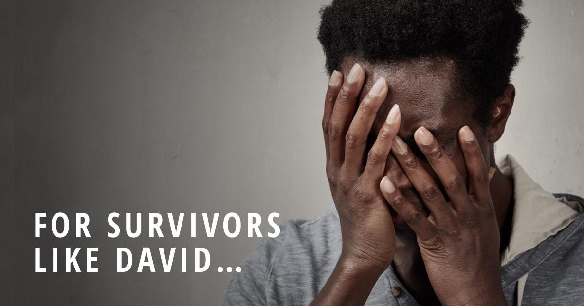 'David' is 1 of the est. 24+ million victims of forced labor (ILO 2017). Our Anti-Trafficking Program helps survivors like him—providing counseling & assistance to heal. And it's 1 of many programs your gift doubles to support. Join our $50K match today! hubs.ly/H0hfGWh0