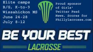 Get the latest girls' scores/news for Montco/Bucks counties and Lehigh Valley from the team Twitter feeds. Sponsored by @BeYourBestLax camps - https://t.co/O0xCgOEkoD https://t.co/3R4Sm926YO