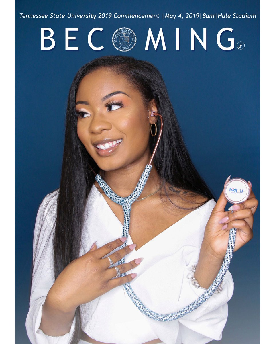 "Next Saturday May 4th, 2019.......I will be graduating from the  ILLUSTRIOUS TENNESSEE STATE UNIVERSITY with a Bachelors of Science in Biology minoring in chemistry. ""I AM BECOMING DR. MICHELLE PHILLIPS""  #tsu19 #becoming #HBCUGrad #futuredoctor @MichelleObama <br>http://pic.twitter.com/IQ4bJuAR2f"