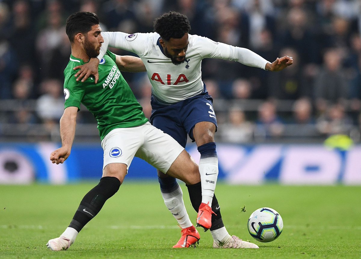 Danny Rose: MotM -- @SpursOfficial 1-0 Brighton Shots(OT) -- 2(1) Key passes -- 1 Aerial duels won -- 3 Dribbles -- 2 Times fouled -- 4 Tackles -- 3 Interceptions -- 2 Rating -- 7.86 For more player stats -- whoscored.com/Matches/128490…