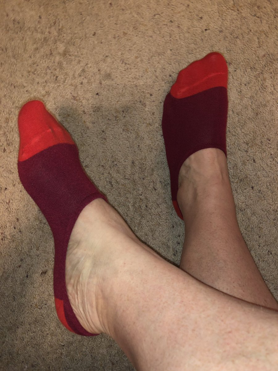 Went for some comfy #noshows today as I took my COMPS exam for my counseling degree. It must have helped as I passed! #sockgame #tuesday<br>http://pic.twitter.com/nHmNnBq6eb