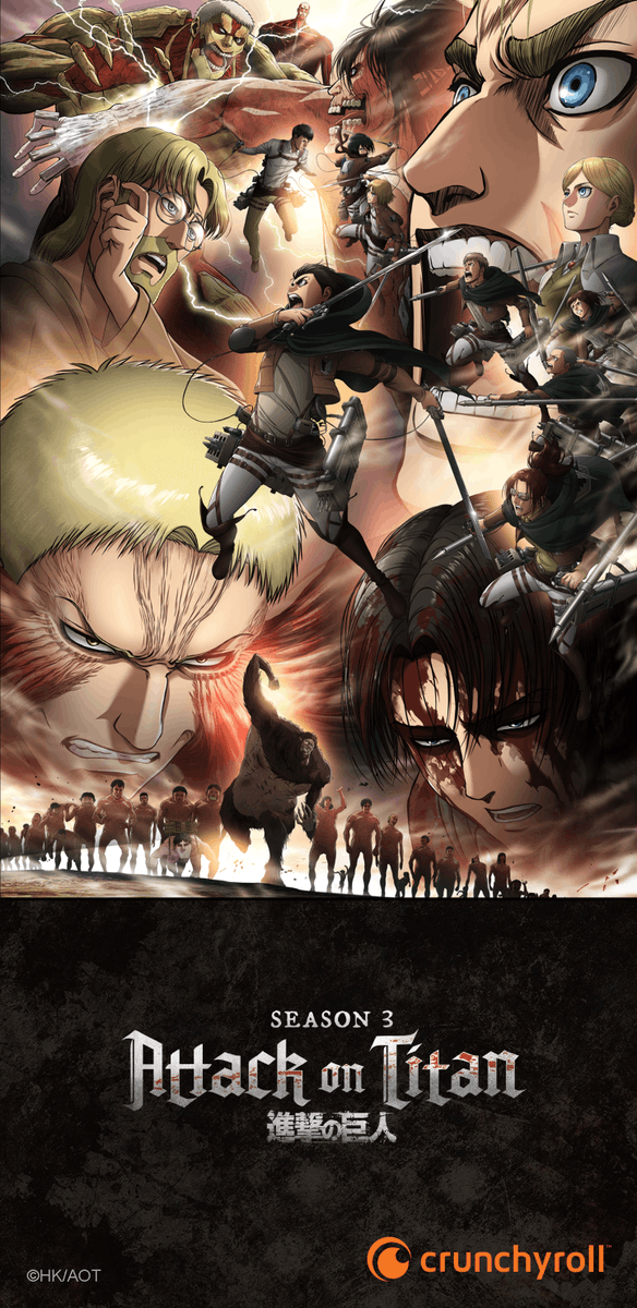 Crunchyroll On Twitter Get Ready For Attack On Titan Season 3 S Second Half With This Phone Wallpaper