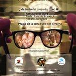 Image for the Tweet beginning: Anunciamos nuestra #cena #espectaculo #solidario